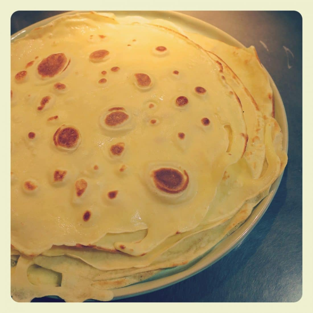 Mille crepes ricetta