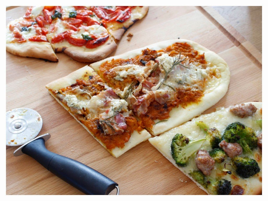 Pizza veloce e quattro idee per farcirla -  The Bluebird Kitchen - Ricette, ...