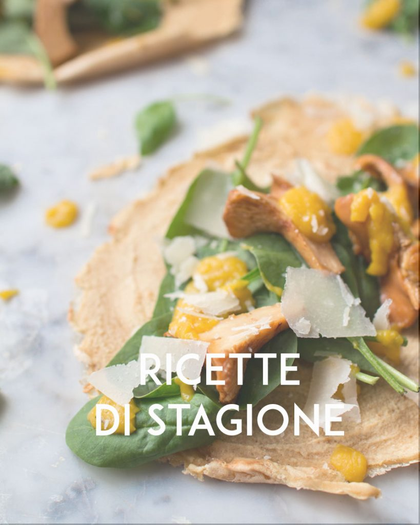 RICETTE DI STAGIONE