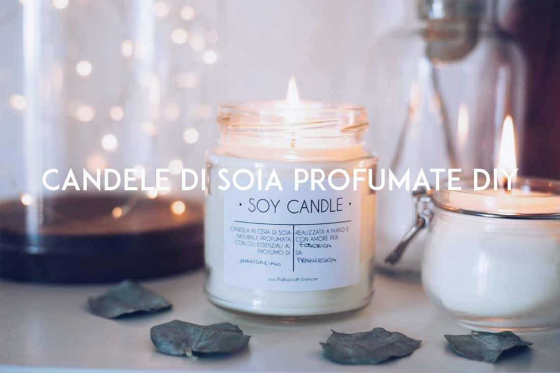 candele di soia