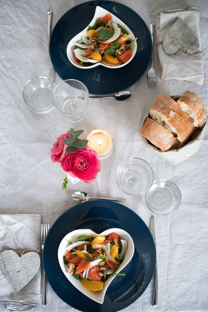 menu' di san valentino facile