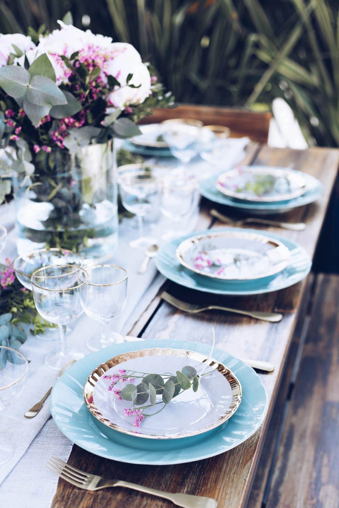La cena in terrazza è servita - | The Bluebird Kitchen - Ricette ...