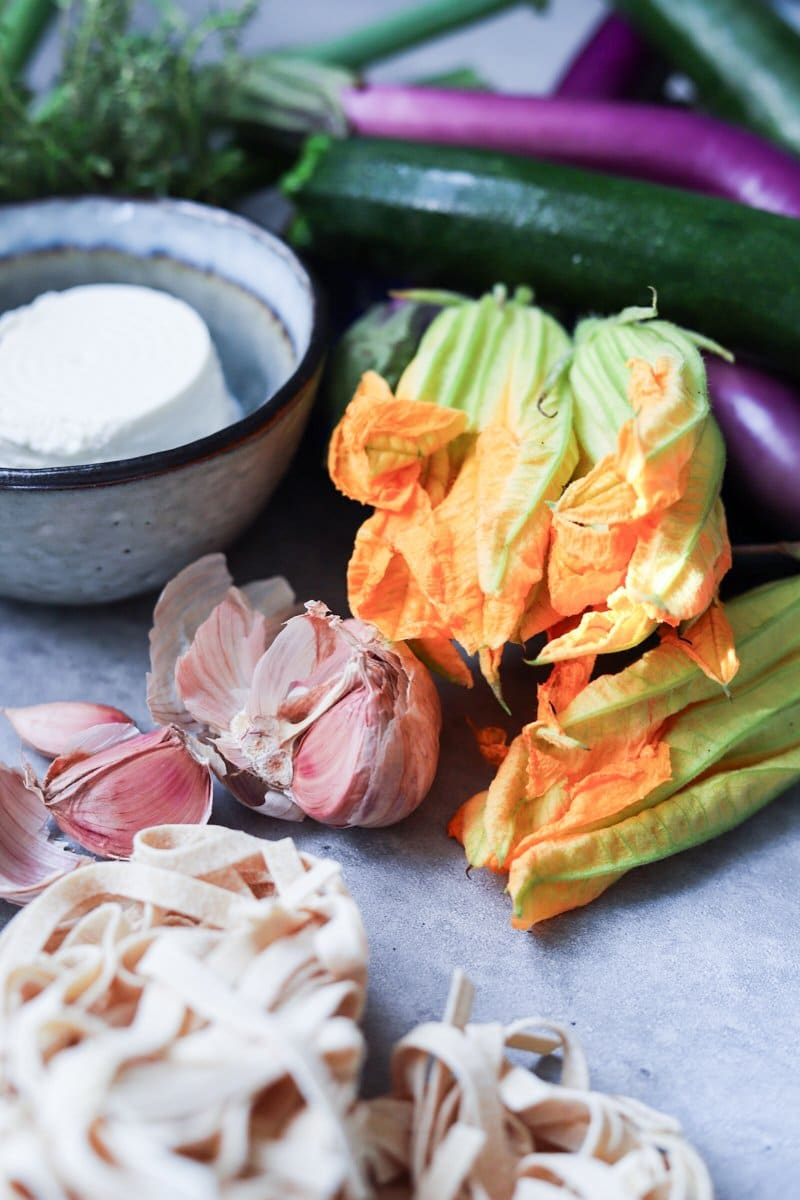 The_Bluebird_Kitchen_Francesca_Giovannini_Pasta_con_verdure_arrosto_ingredienti