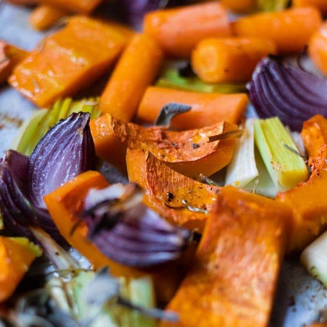 The_Bluebird_Kitchen_FGiovannini_Vellutata_di_Zucca_Al_Forno_verdure_cotte