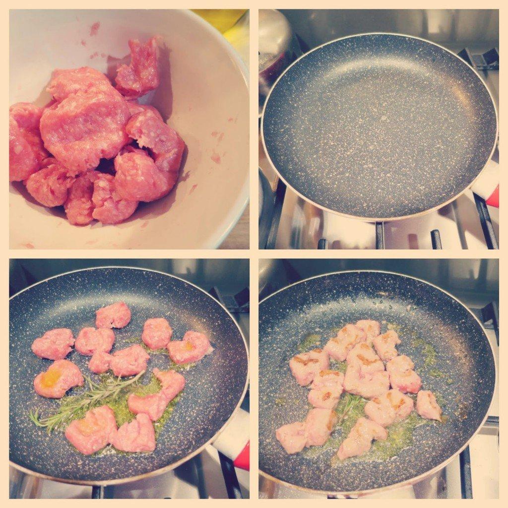focaccia brie, salsiccia e broccoli