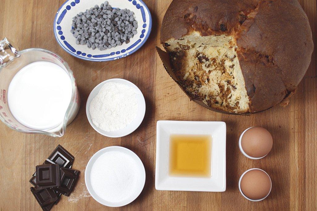 zuppa inglese di panettone