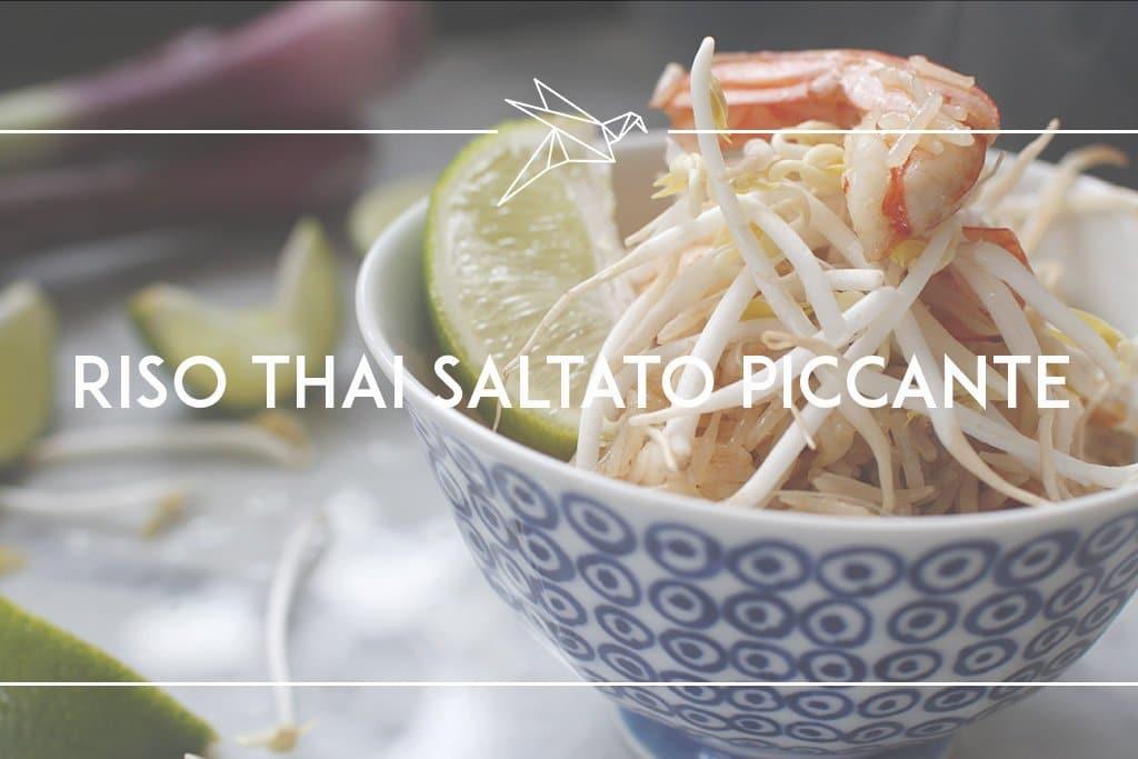 riso thai saltato piccante