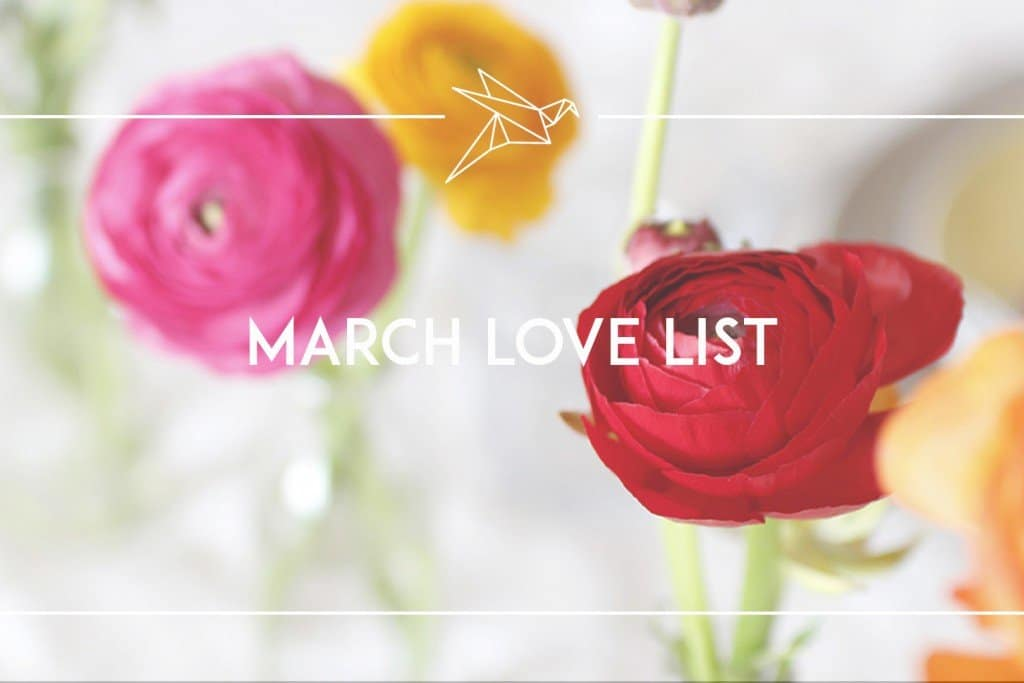 march love list