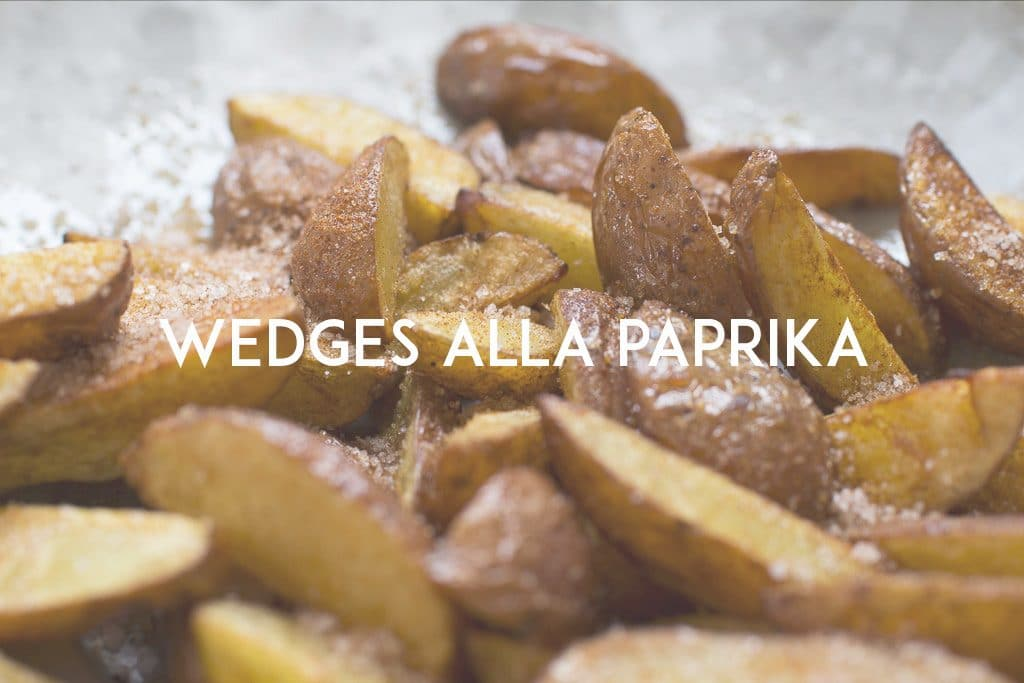 wedges alla paprika