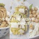 ricette in 15 minuti