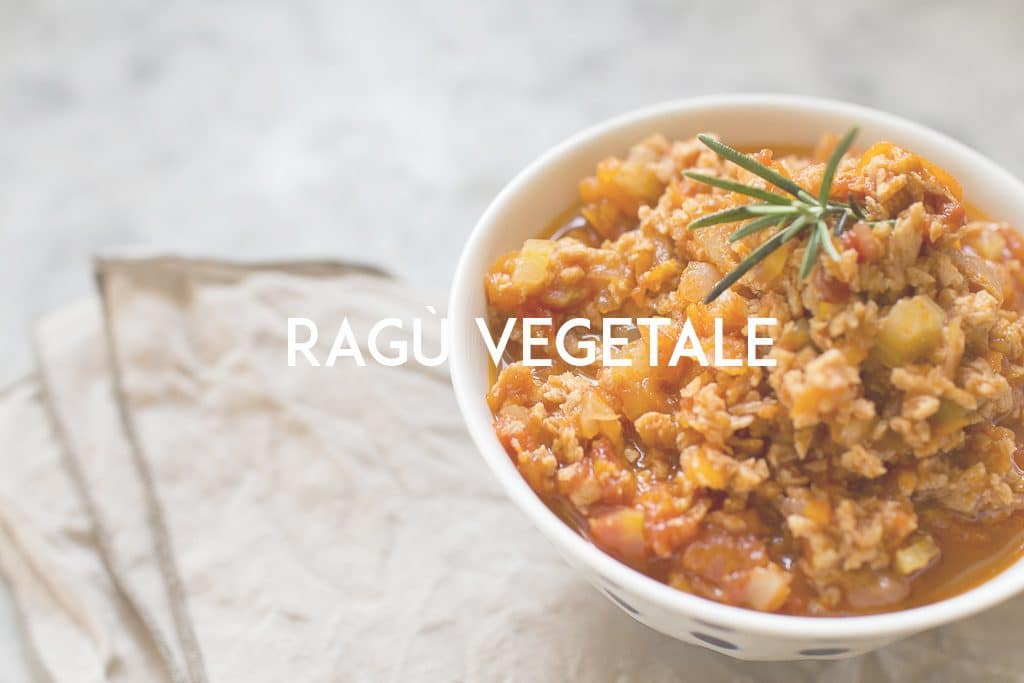 ragu vegetale