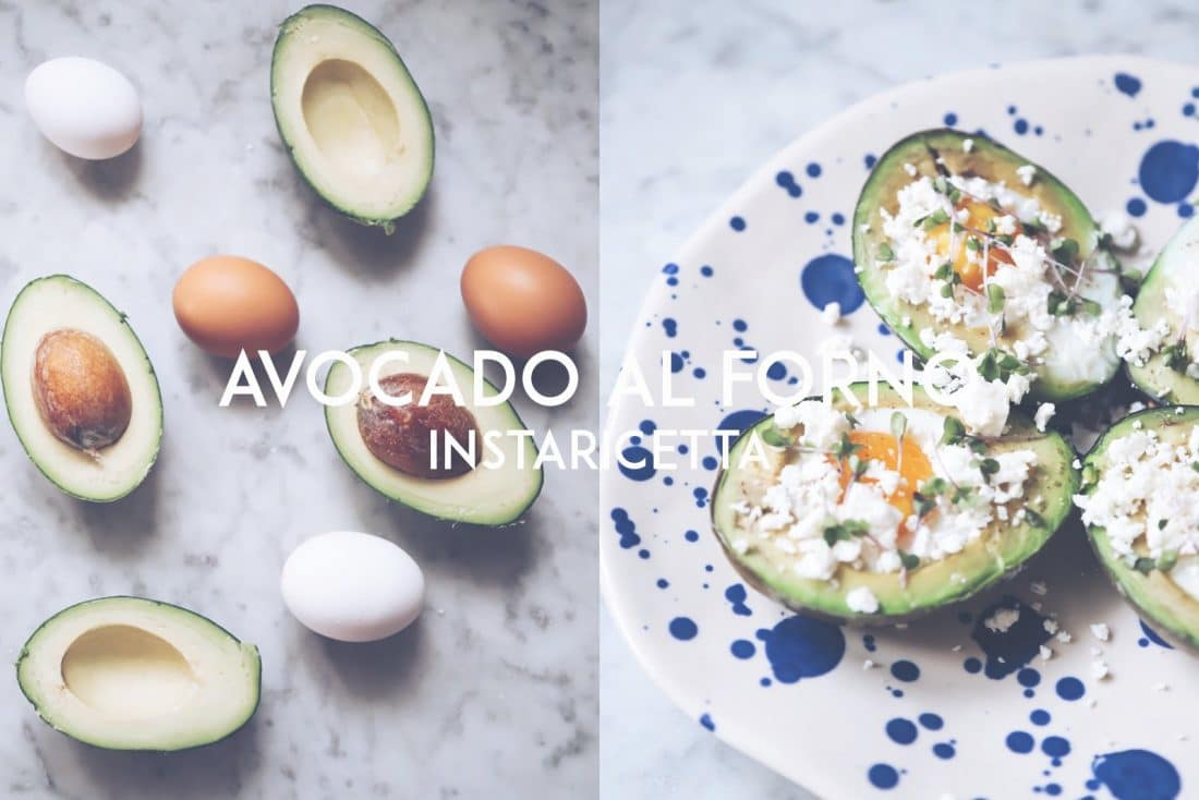 avocado al forno