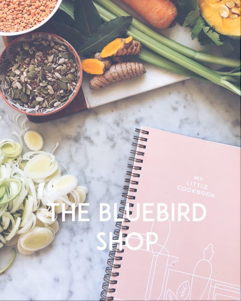 scopri il the bluebird shop