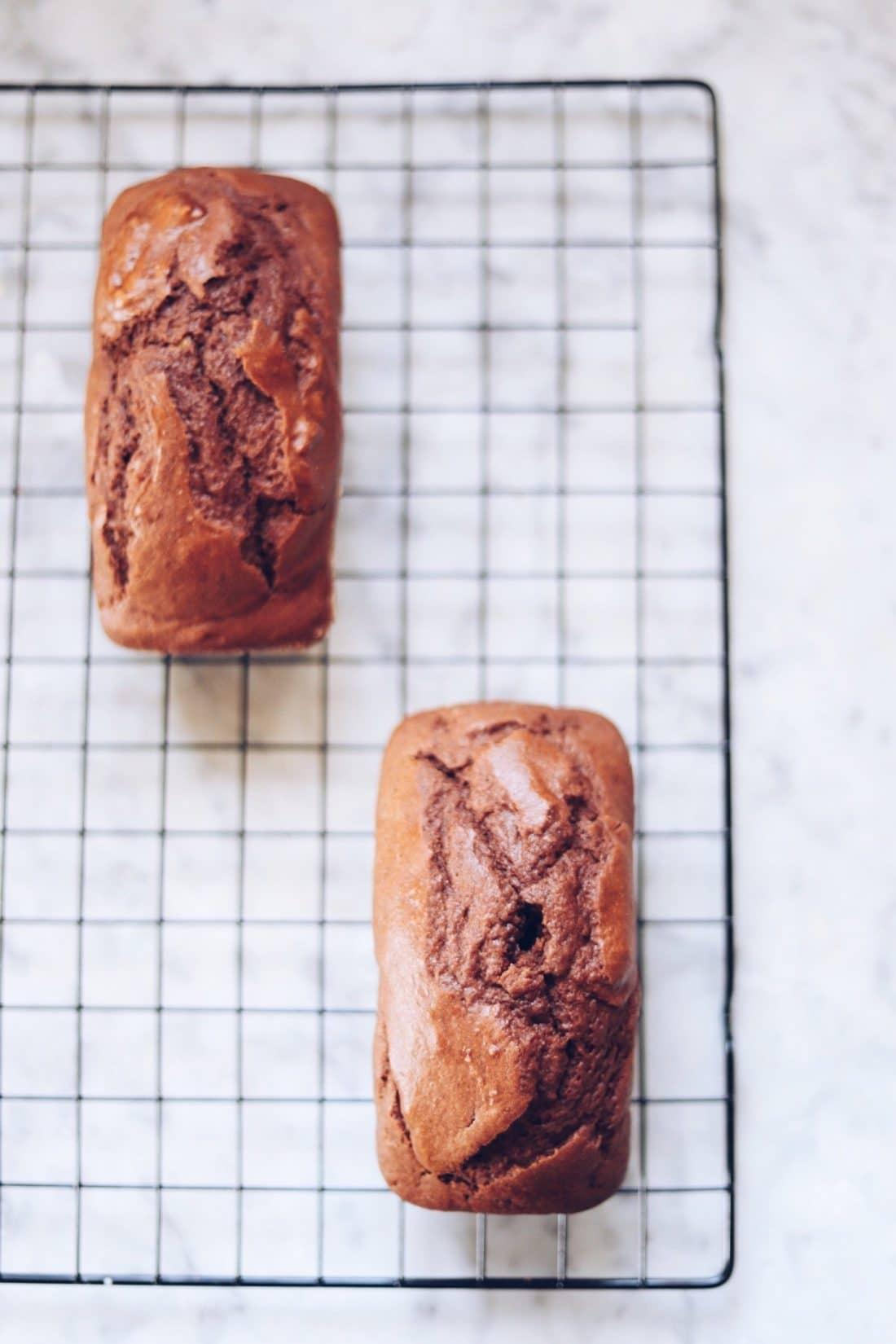 plumcake arancia e cioccolato