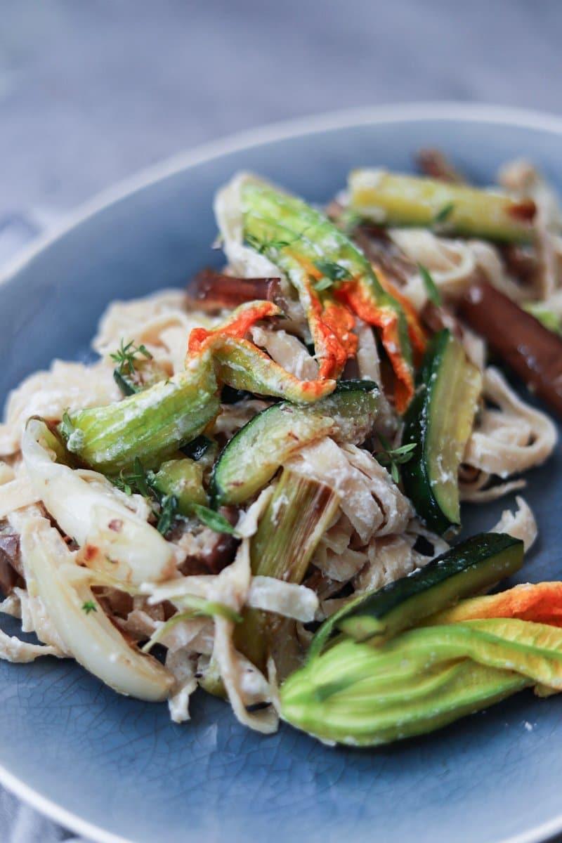 The_Bluebird_Kitchen_Francesca_Giovannini_Pasta_con_verdure_arrosto