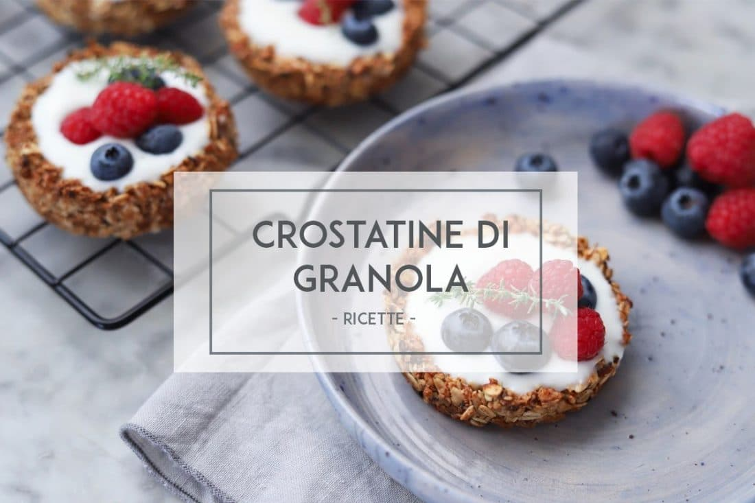 Crostatine di granola