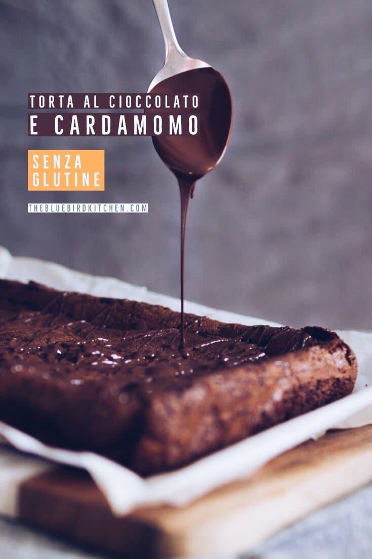 FGiovannini_The Bluebird Kitchen_torta al cioccolato e cardamomo senza glutine