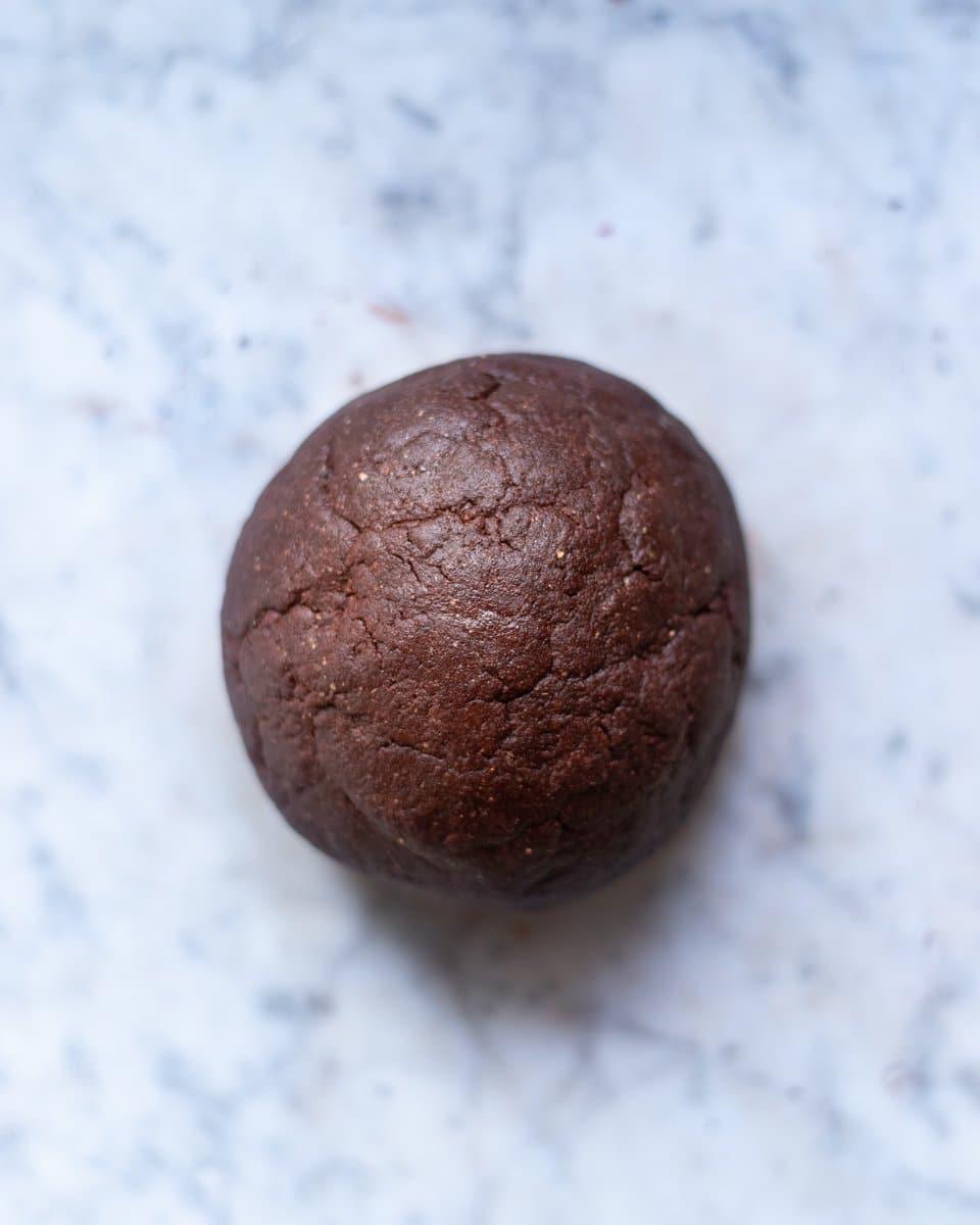 FGiovannini_The Bluebird Kitchen_crostata integrale alle mandorle e cioccolato con marmellata d'arancia_procedimento 1
