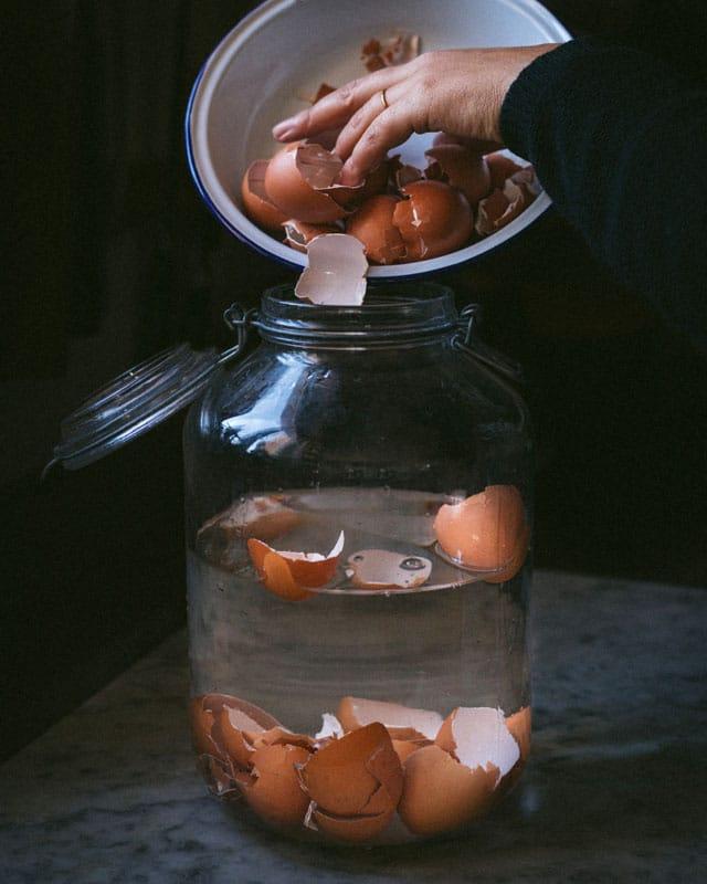 The Bluebird Kitchen_10 modi per utilizzare i gusci delle uova_boccione d'acqua